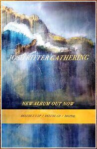 JOSH RITTER Gathering Ltd Ed RARE Tour Poster +BONUS Rock Country Folk Poster!