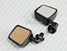 RC 1/10 Scale Truck Side Mirrors JEEP WRANGLER RUBICON Body Mirrors BLACK
