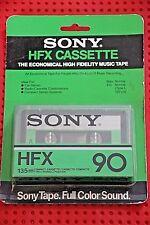 SONY  HF X  90  VS.II    BLANK CASSETTE TAPE (1) (SEALED)
