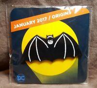Batman Origins Logo Pin ~ Loot Crate DX Exclusive January 2017 ~ DC Comics