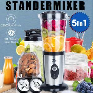 Uten Standmixer Smoothie Maker Mixer Blender Kaffeemühle Milchshaker Edelstahl