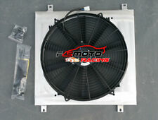 Aluminum Radiator Shroud + Fan FOR Holden Commodore VG VL VN VP VR VS V8 AT/MT