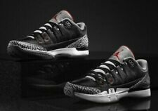 Nike Zoom Vapor Roger Federer AJ3 Black Cement Men's 11.5
