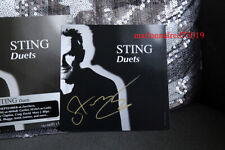 STING DUETS CD AND SIGNED ARTCARD NEW RARE SEALED AND SOLD OUT