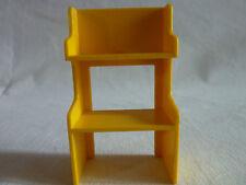 PLAYMOBIL accessoires maison ferme magasin poney ranch 1 étagère jaune