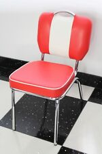 American Diner Furniture 50s Style Retro Chair Red