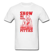Pitbull - Show me your Pitties   Men's T-Shirt