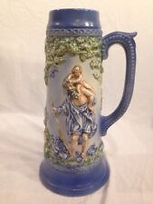 Vintage Figural Beer Stein, Musical, Over A Foot Tall!