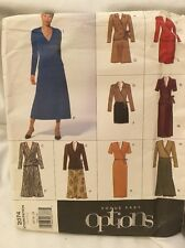 Vogue Easy Options Sewing Pattern 2074 Uncut 14 16 18 Skirt and Top