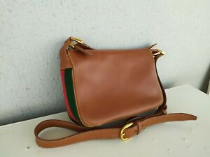 Vintage Gucci Small Leather Bag Crossbody