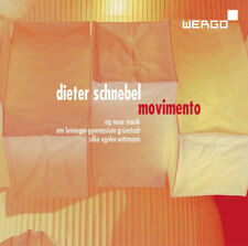 Dieter Schnebel : Dieter Schnebel: Movimento CD (2016) ***NEW***