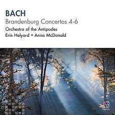 Bach - Brandenburg Concertos 4-6 Orchestra of the Antipodes CD 2011 NEW & SEALED