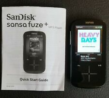 SanDisk Sansa Fuze+ 4gb MP3 Music Player - Black