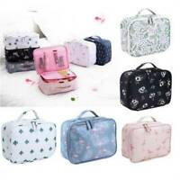 Travel Cosmetic Makeup Case Organizer Storage Pouch Washing Tote O3