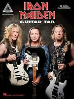 Iron Maiden Guitar Tab : 25 Metal Masterpieces, Paperback by Iron Maiden (COP...