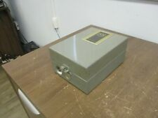 Allen Bradley Enclosed Lighting Contactor 702l Baa92 Ser K 120v Coil 30a 2p Used