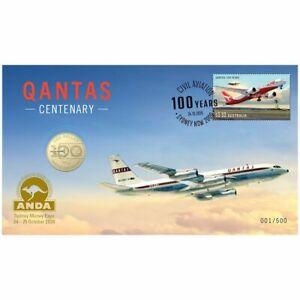 2020 Sydney ANDA Qantas $1 Coin PNC