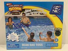 Splash N Score Bean Bag Toss Inflatable Pool Toy. Glow In The Dark New In Box