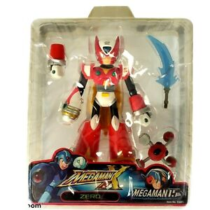 Jazwares Capcom Mega Man X Zero 85051 15 Anniversary Action Figure Megaman 2003