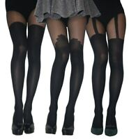 MOCK SUSPENDER STOCKINGS TIGHTS 40 / 20 DENIER  SIZE : S , M , L , New