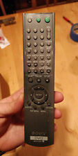 Sony rmt-d165a remote