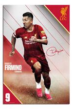 "Liverpool FC Firmino 2019 - 2010 Season Poster  24x36"" Official |UK Seller"