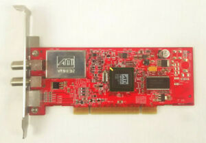 PowerColor ATI T55-P03 TV/FM Tuner PCI Card H-1A2-0000000506-61L-255 17AA