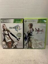 Final Fantasy XIII 13 and Final Fantasy XIII 2 Xbox 360 TESTED Complete