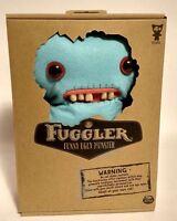 New Spin Master FUGGLER Mrs McGettricks Funny Ugly Plush Teeth Blue