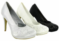 Court Synthetic Med (1 3/4 to 2 3/4 in) Heel Height Heels for Women