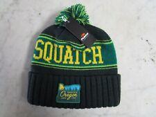 NWT Oregon Beavers Squatch Knit Pom Squatch'n Green Unisex One Size Beanie