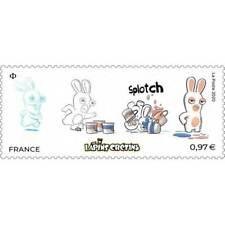 Timbre neuf**  MNH France 2020 : Les Lapins crétins
