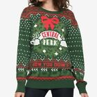 Friends Central Perk Ugly Christmas Sweater XS