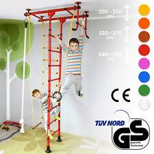 NiroSport FitTop M1 Indoor Jungle Gym Wall Bars for Kids Swedish Ladder Climbing