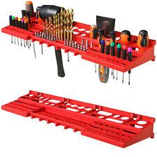 Großer XXL Werkzeugträger Werkzeugwand Werkzeughalter Wandregal Werkstatt rot