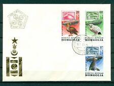 """Mongolie 1981 - Y & T n. 129/35 poste aérienne  - Vol polaire par le """"Graf Z"""