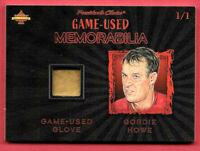 2020 Gordie Howe President's Choice Solitaire 1/1 Glove - Detroit Red Wings
