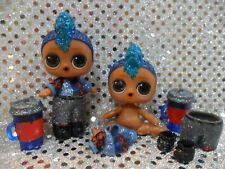 1 New MGA LOL Surprise Doll Sparkle Series Glitter Punk Boi Boy With Accessories