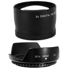 55mm  Hood Flower Petal,Telephoto Lens for Sony Alpha SLT A55 A390 A560 Camera