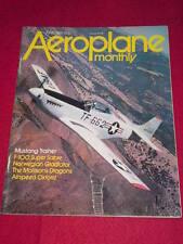 AEROPLANE MONTHLY - MUSTANG TRAINER - June 1980 Vol 8 # 6