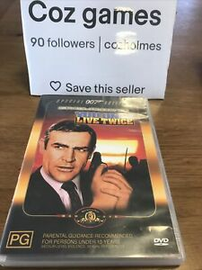 James Bond 007 Special Edition You Only Live Twice dvd Sean Connery Oz Release