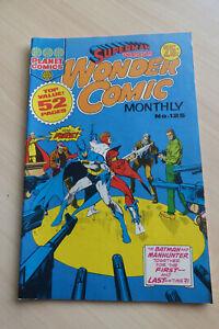PLANET COMICS Superman Presents Wonder Comic Monthly #125 b&w 48pgs 25c [FN/VF]