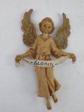 PRESEPE PRESEPIO FONTANINI vecchia statuina plastica ANGELO vintage 3