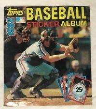1982 Topps Baseball Sticker Album - Complete w/All Stickers