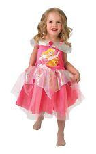 Chicas BAILARINA La Bella Durmiente Aurora Disney Princesa Tutú Rosa Traje de Disfraz