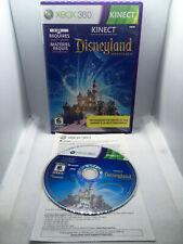 Kinect Disneyland Adventures - Complete CIB -Xbox 360