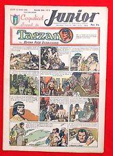 Coquelicot journal du JUNIOR n°7. Mars 1947. SPE. Pellos, Tarzan...Très Bel état