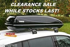 Thule Ocean 200 Car Roof Top Box 450 Litre Gloss Black Universal large Roofbox