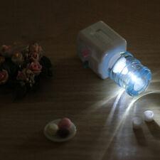 HK- Kawaii 1/12 Miniature LED Water Dispenser Machine Model Dollhouse Accessorie