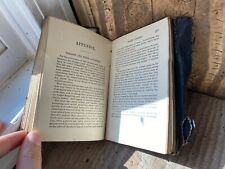 Antique Oddies Leather Book Students Pocket Medical Science Lexicon Longley
